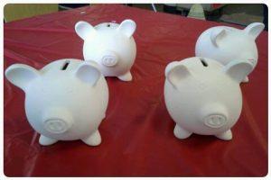 Decorate a Piggy Bank