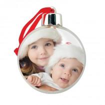 photo ball ornaments