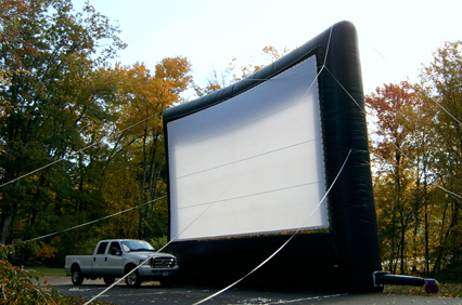 Inflatable Drive In