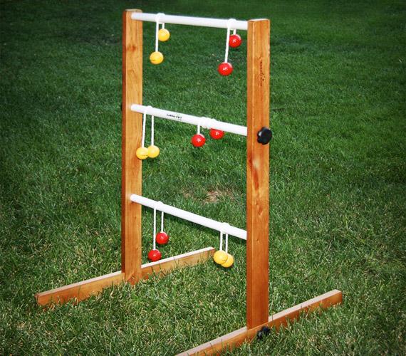 Backyard Baseball 2009: Inflatable Games Online » Ladder Golf